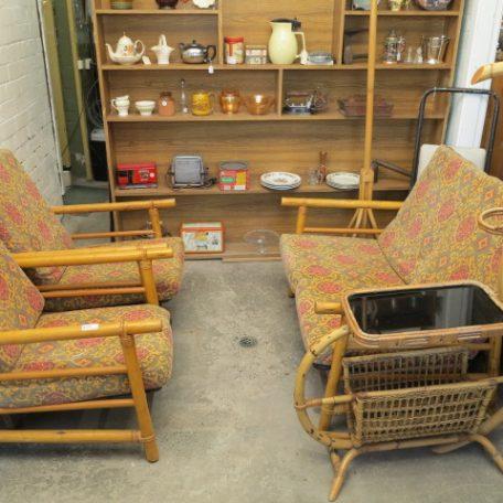 Cane 3 Piece Setting - Buy Antique Furniture Online - McKee's Antiques Casino