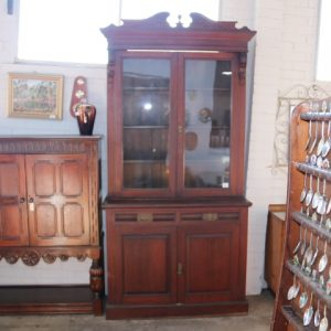 Edwardian Pine Bookcase