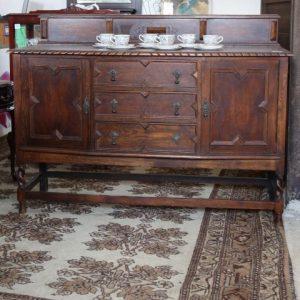 Oak Jacobean Sideboard