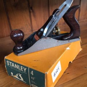 Boxed Stanley plane