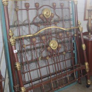 Brass Bed & Base