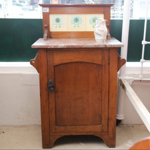 Marble top bedside/ washstand