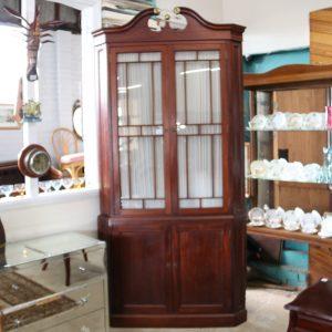 Large Cedar Corner Cabinet