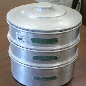 3 Tier aluminium biscuit and cake tin