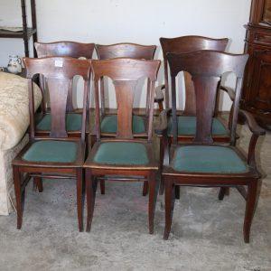 Set 6 Beard Watson Chairs