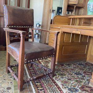 Oak Hall Chair