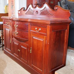 Curved Front Sideboard