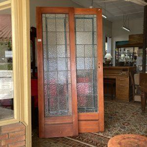 Leadlight French Doors