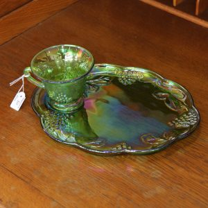 Americana Glass Breakfast Set (4 available)