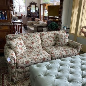 Floral 2 Seater Lounge