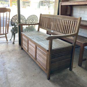 Timber Lift Seat Garden Bench