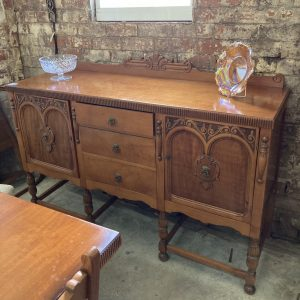 Sideboard, Table and 6 Chairs