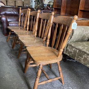 Oak Dining Chairs (set of 4)