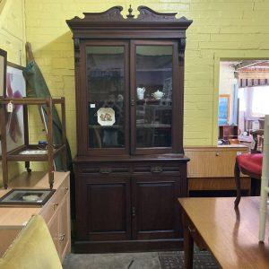 Victorian Blackwood Bookcase