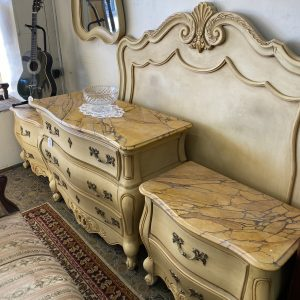 5 Piece French Style Bedroom Suite