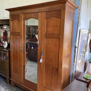 Silky Oak Wardrobe