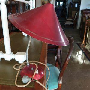 Anodised Aluminium Lamp