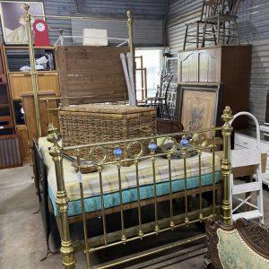 Full Brass Bed